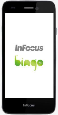 InFocus Bingo 50 High definition Mobile Phone