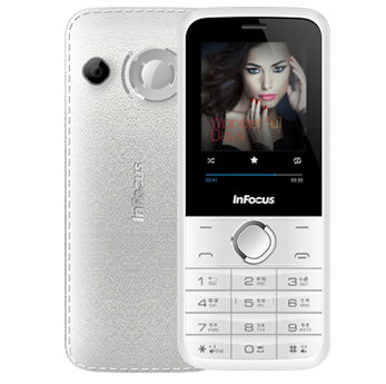 InFocus F125 mobile phone - Black