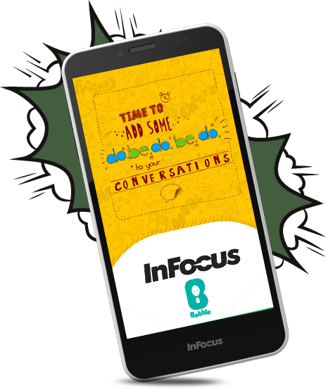 InFocus M370 - Best Emoticon Chat Phone