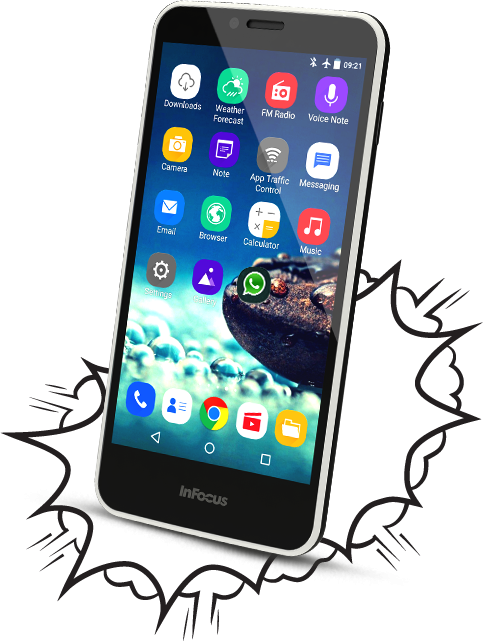 The best smartphone InFocus M370 at reasonable price